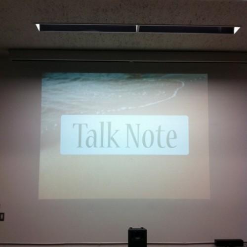 第3回 Talk Note「プレゼンテーション」参加してきました!