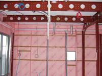 2階リビングの空調の冷却水は1階へ