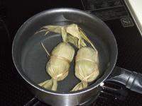 鍋で茹でて食べると美味しい