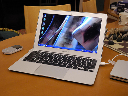 MacBook AirにParallels Desktop for mac いれてWindows 7インストールしてみた