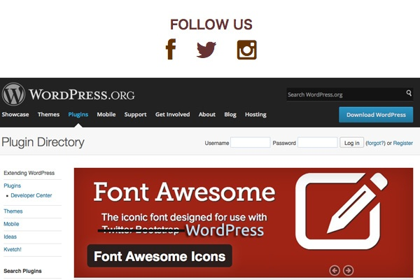 メモ:WordPressプラグイン Font Awesome Icons