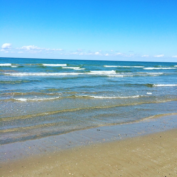 海もきもちー