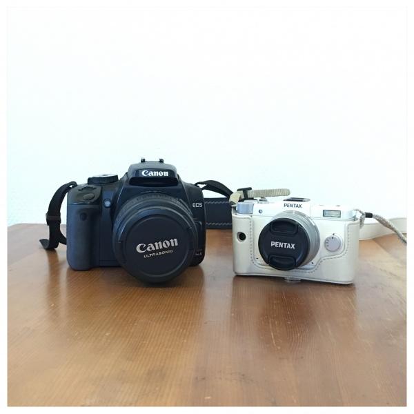 Canon EOS Kiss XとPetanxQ