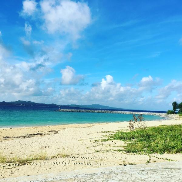 きれいなビーチ!