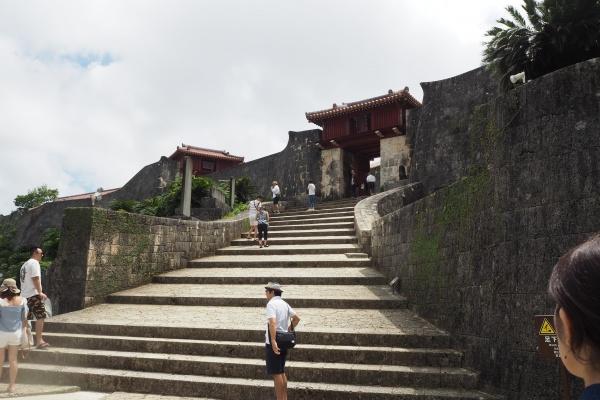 階段が斜めになっていてあるきやすかった