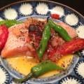 魚と野菜のムニエル