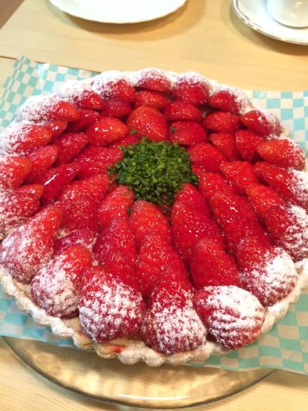 キルフェボンのケーキ