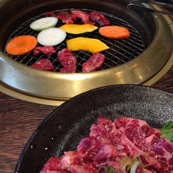 ランチメニュー和風焼き肉ランチ
