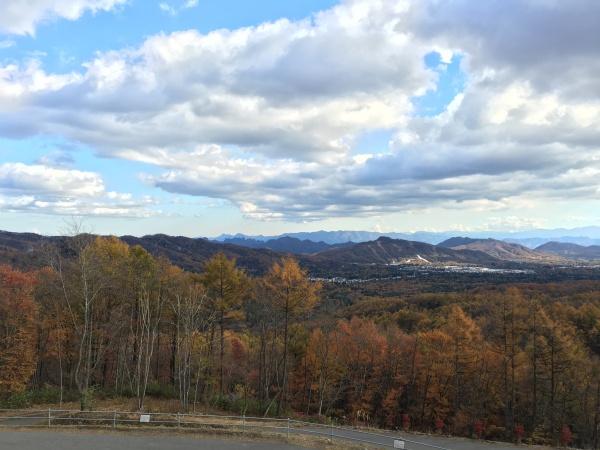 軽井沢の景色が一望できます