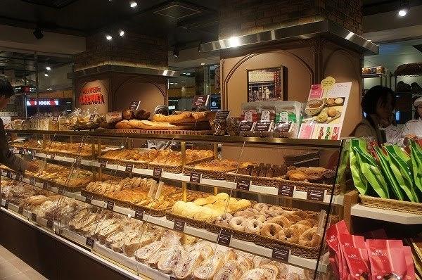パンがいっぱい