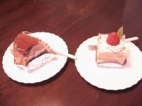 Yさんからいただいたリュバンのケーキ。