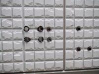 外壁のスッキリポールの穴