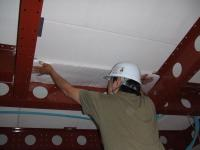 1階ベランダの下は壁面でなくても断熱材