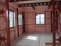 1階もピンク一色