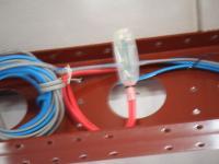 ユニットケーブルをつなぐ電源ジョイント