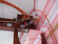 1階から2階への電源線