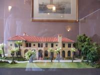 ベーリック・ホールの模型