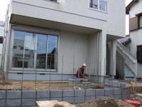 玄関先の外構工事2