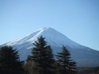 富士山の夜明け7:51